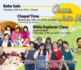 Poole Taiwan  2019-06-24th-29th