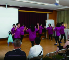 Sakai Mission Church dance on the 21st Oct 2018